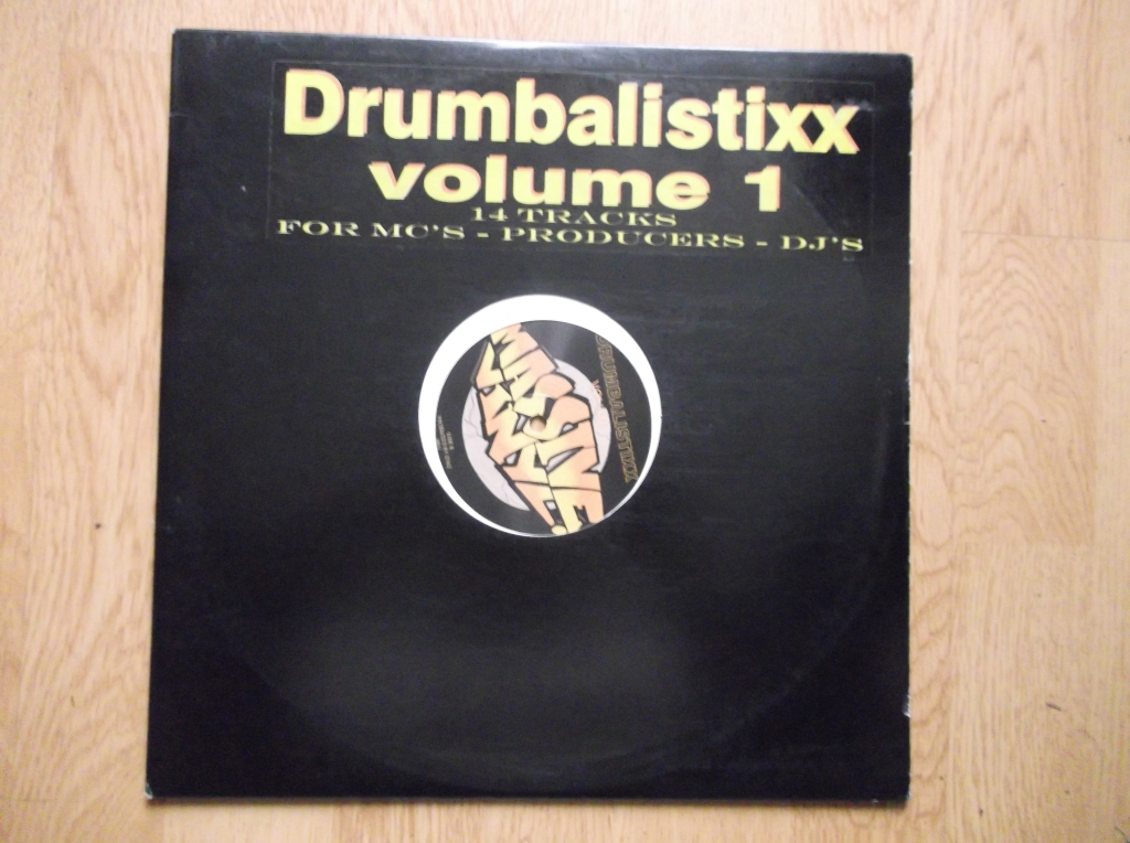 UNKNOWN ARTIST - Drumbalistixx Vol 1 - Maxi 33T