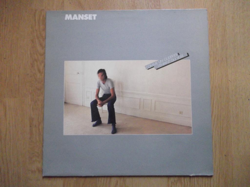 GÉRARD MANSET - Comme Un Guerrier / L'Enfant Qui Vole - LP
