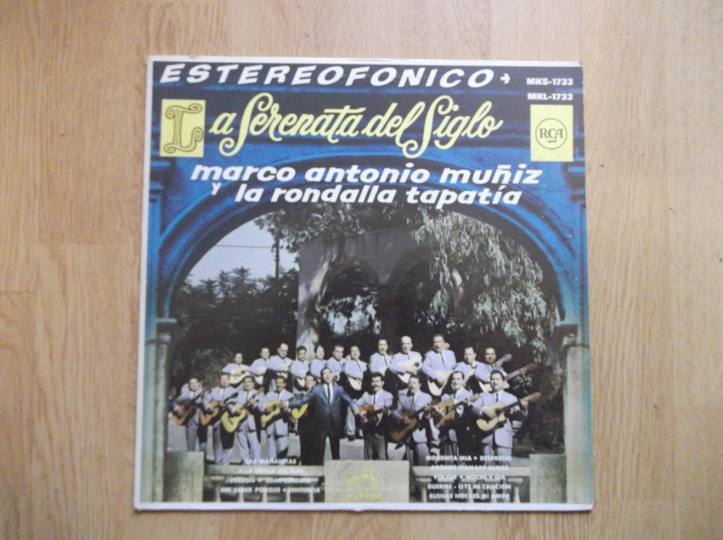 MARCO ANTONIO MUÑIZ / LA RONDALLA TAPATÍA - La Serenata Del Siglo - LP