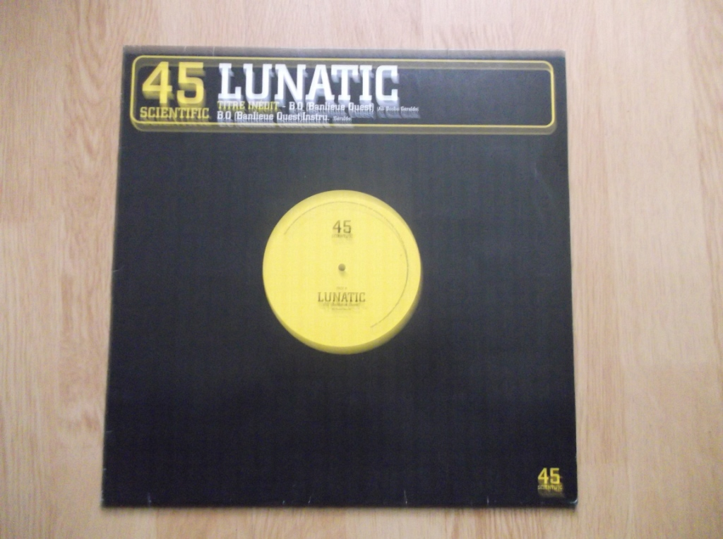 LUNATIC - B.O Banlieue Ouest - Maxi 33T