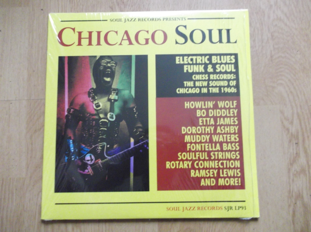 VARIOUS - Chicago Soul - 33T x 2