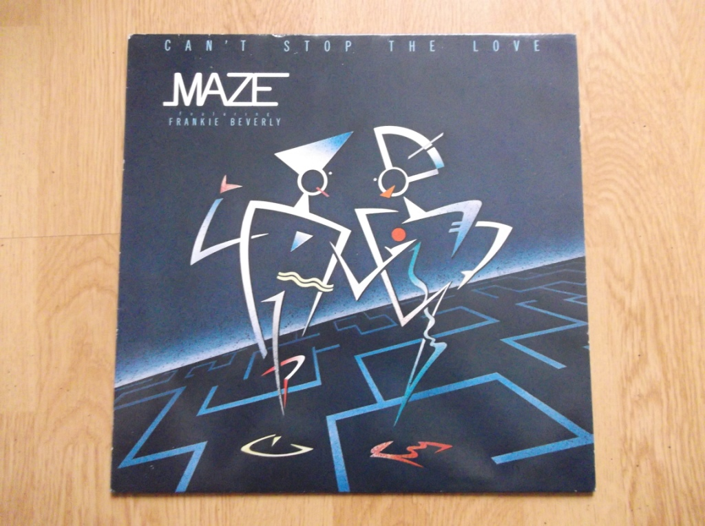 MAZE FEATURING FRANKIE BEVERLY - Can't Stop The Love - 33T