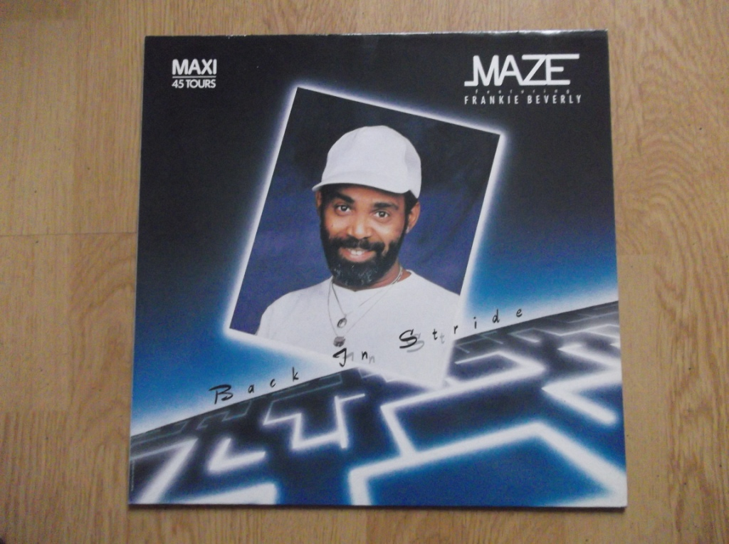 MAZE FEATURING FRANKIE BEVERLY - Back In Stride - Maxi 33T