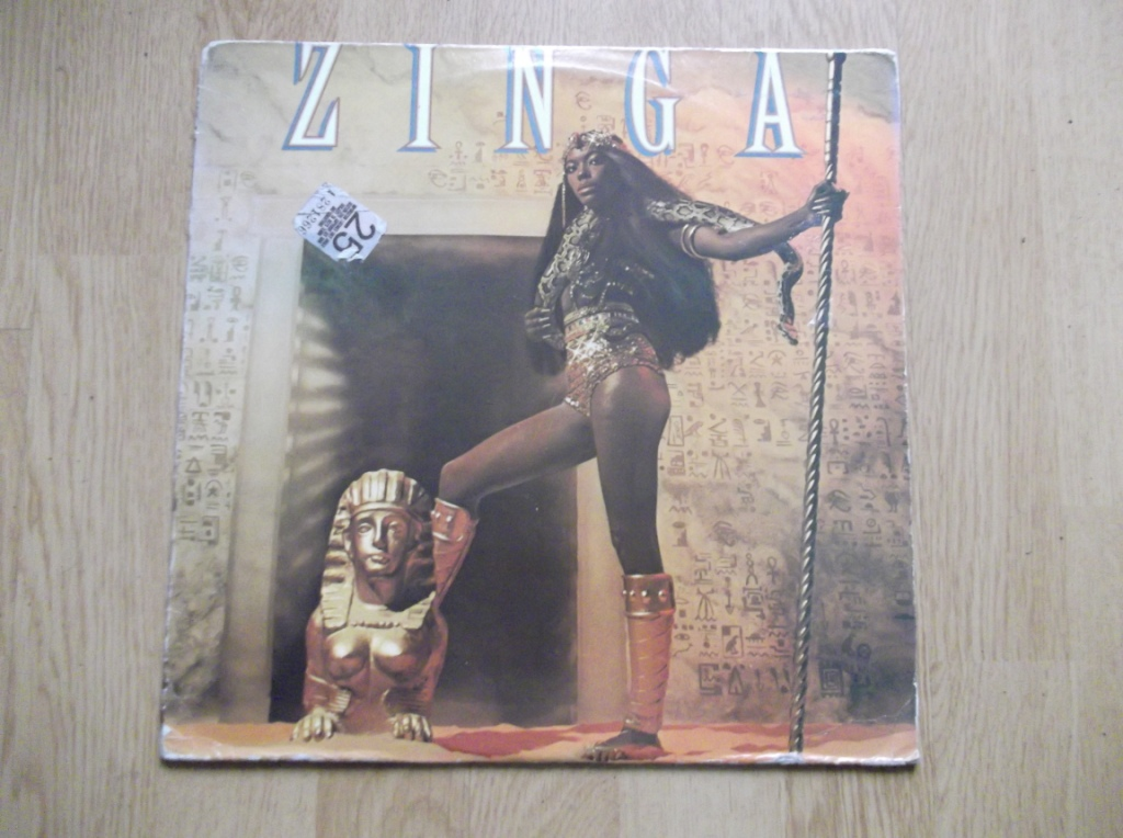 ZINGA WASHINGTON - Zinga - LP