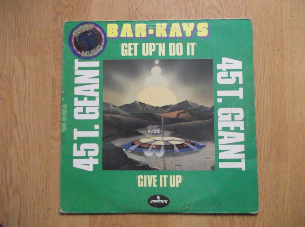 BAR-KAYS - Get Up'N Do It / Give It Up - 12 inch 33 rpm