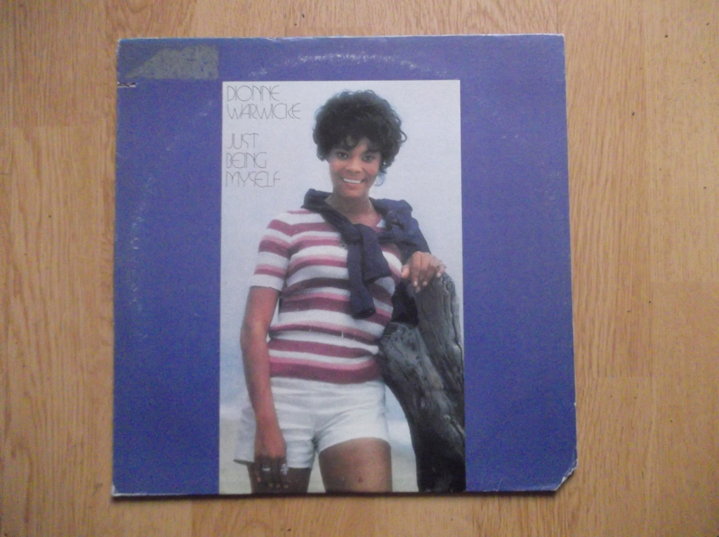 DIONNE WARWICK - Just Being Myself - LP