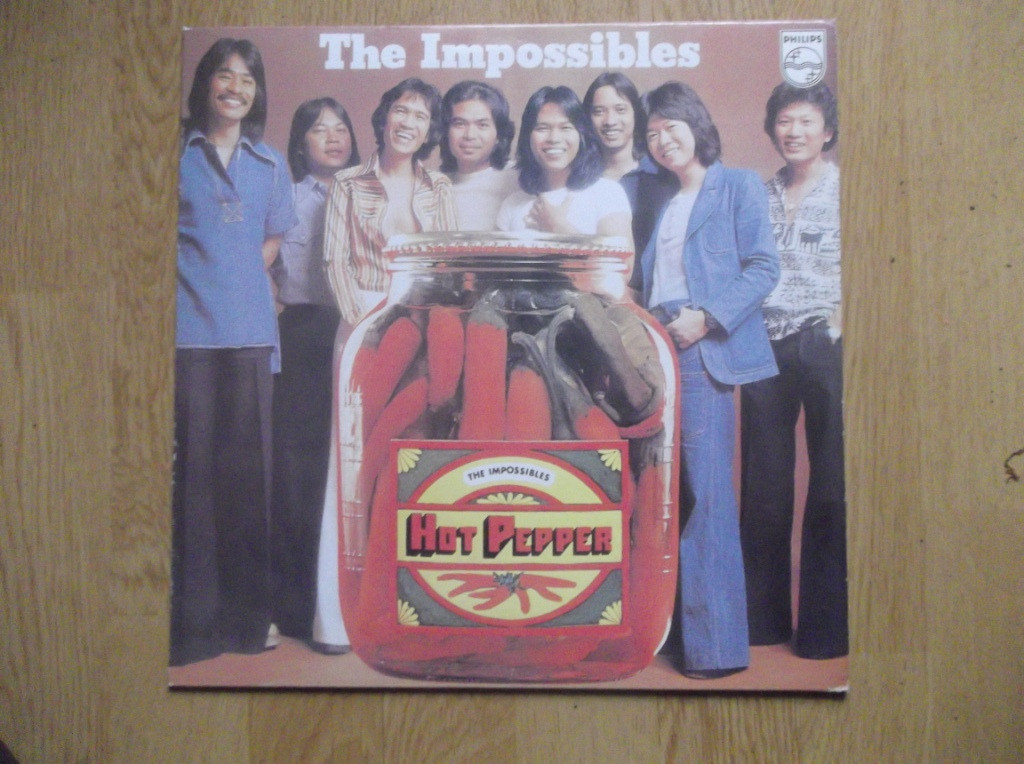 THE IMPOSSIBLES - Hot Pepper - LP
