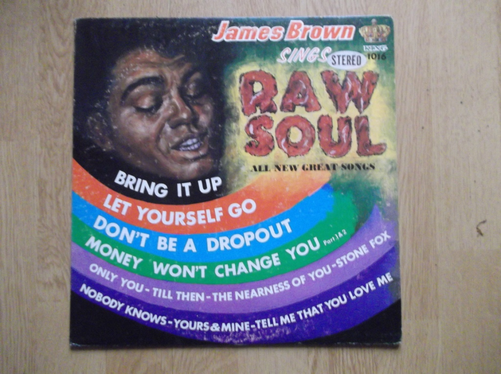 JAMES BROWN - Raw Soul - LP