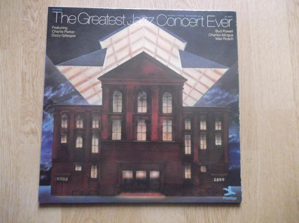 CHARLIE PARKER / DIZZY GILLESPIE / BUD POWELL / CH - The Greatest Jazz Concert Ever - LP x 2