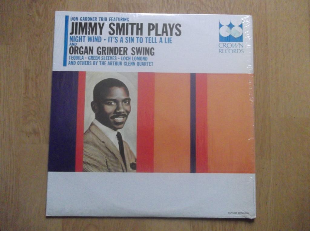 DON GARDNER TRIO FEATURING JIMMY SMITH / ARTHUR GL - Organ Grinder Swing - LP