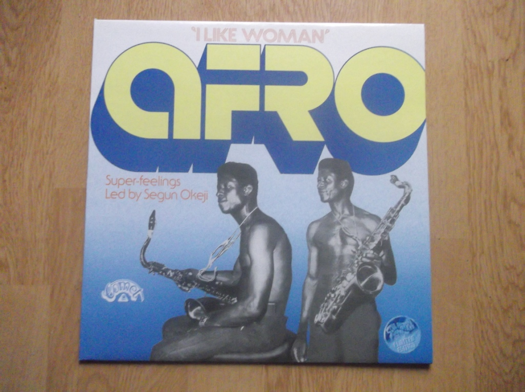 AFRO SUPER-FEELINGS / SEGUN OKEJI - I Like Woman - 12 inch 33 rpm
