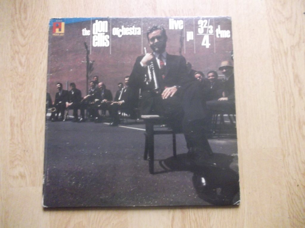 THE DON ELLIS ORCHESTRA - Live In 3 &#8532, /4 Time - LP