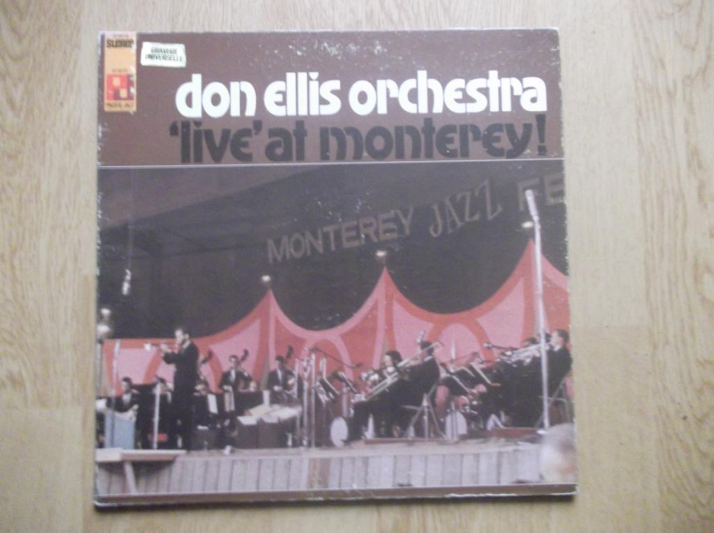 THE DON ELLIS ORCHESTRA - 'Live' At Monterey ! - LP