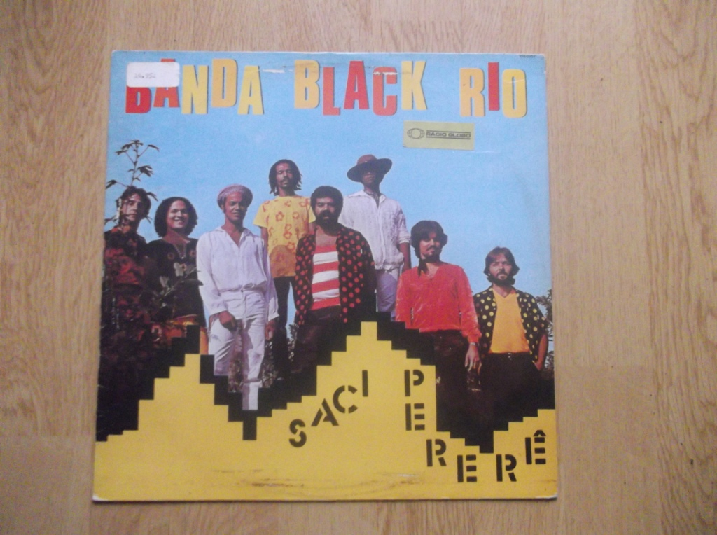 BANDA BLACK RIO - Saci Perere - LP