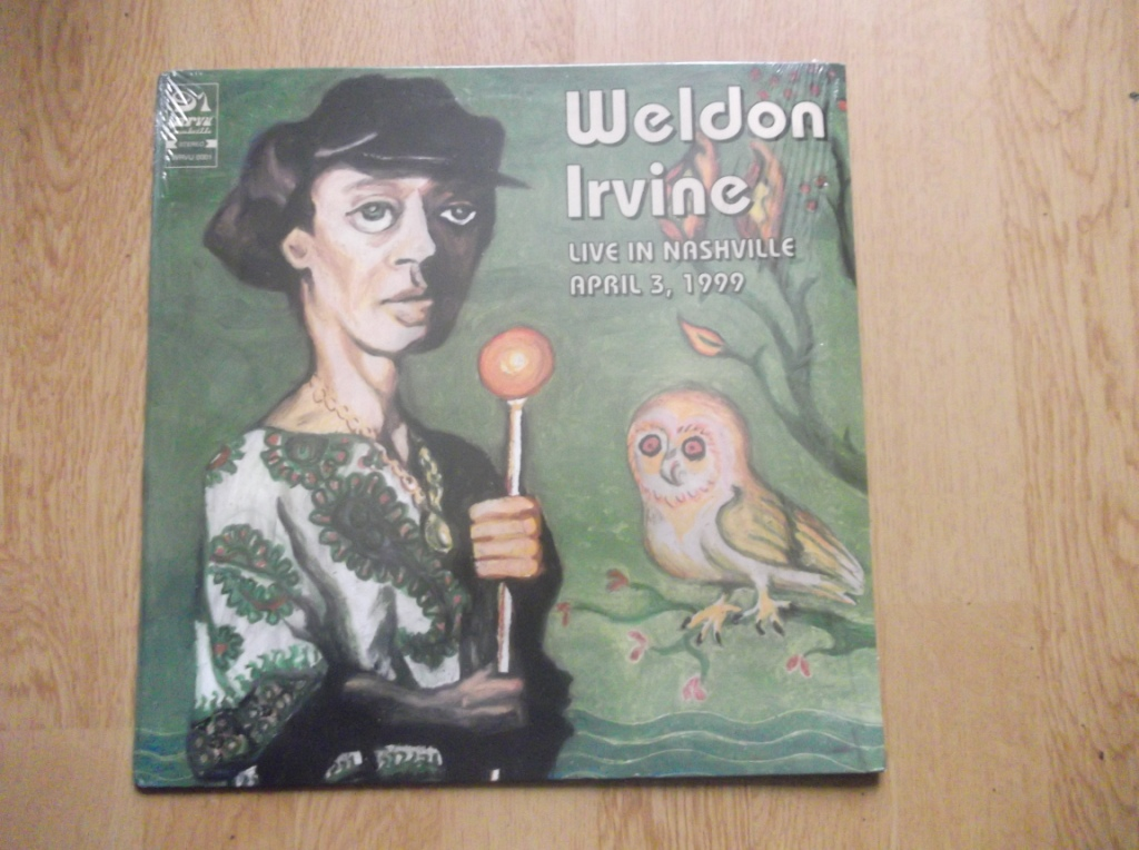 WELDON IRVINE - Live In Nashville April 3, 1999 - 12 inch 33 rpm
