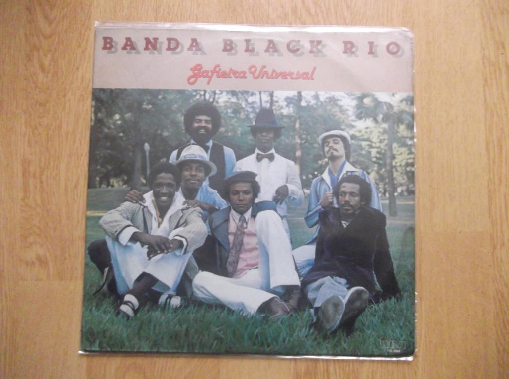 BANDA BLACK RIO - Gafieira Universal - LP