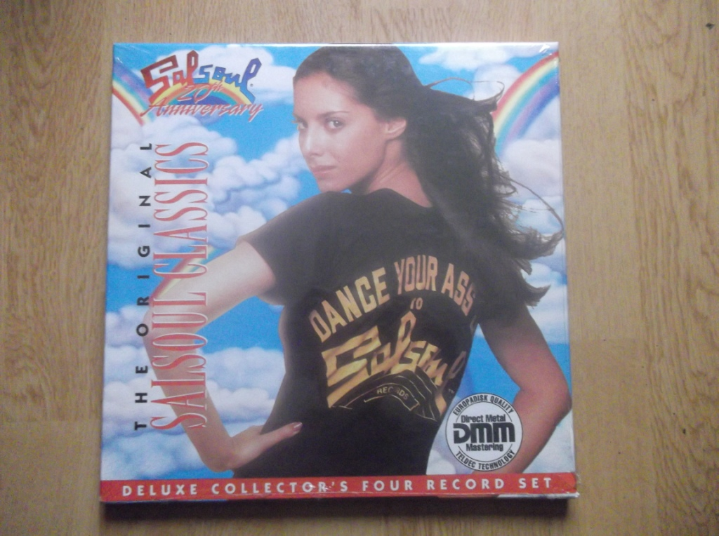 VARIOUS - Salsoul 20th Anniversary - LP x 4