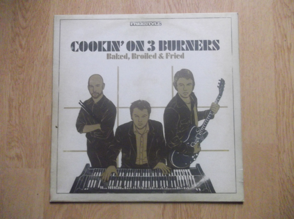 COOKIN' ON 3 BURNERS - Baked, Broiled & Fried - LP