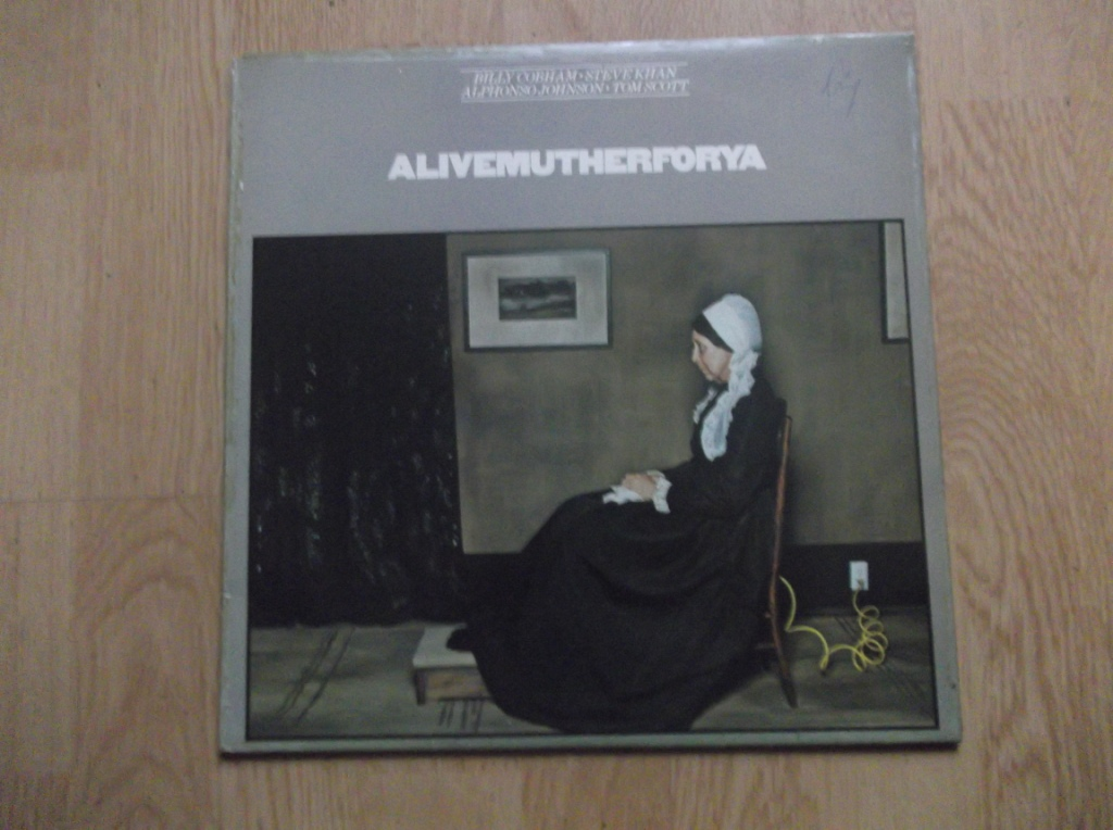 BILLY COBHAM / STEVE KHAN / ALPHONSO JOHNSON / TOM - Alivemutherforya - LP