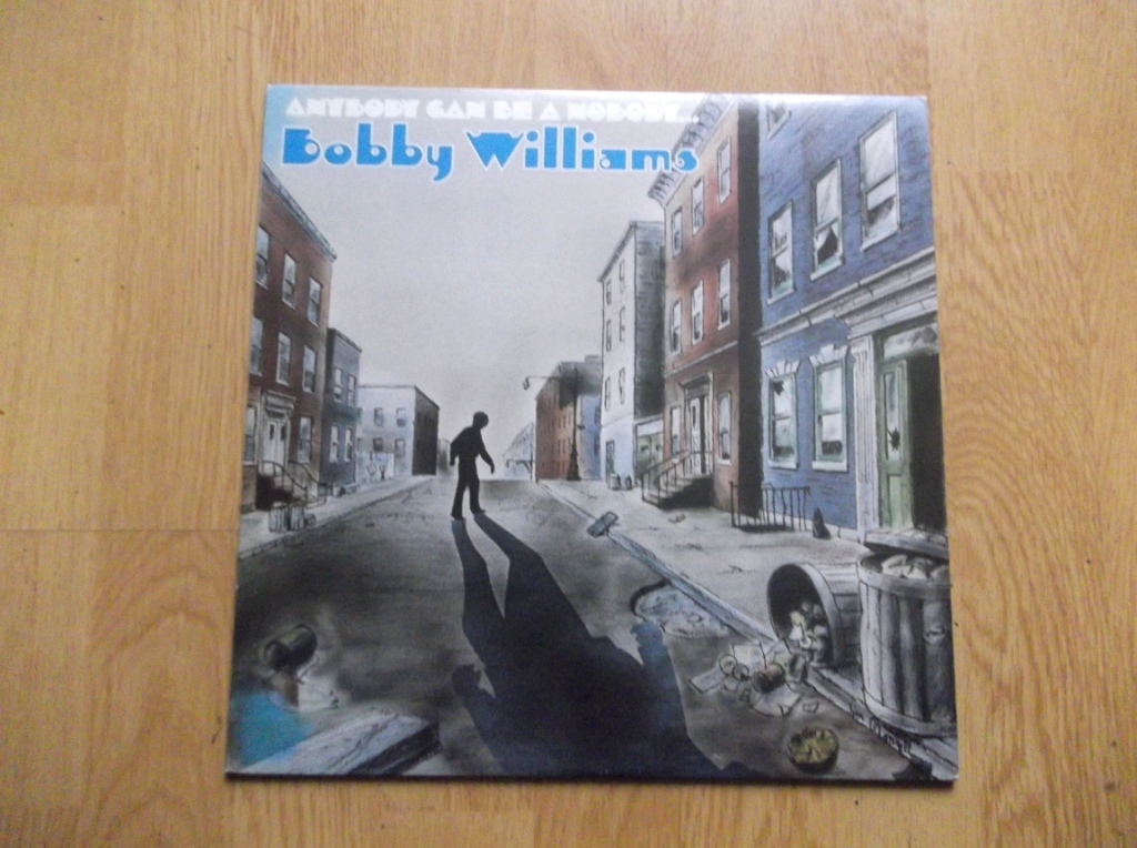 BOBBY WILLIAMS - Anybody Can Be A Nobody - 33T