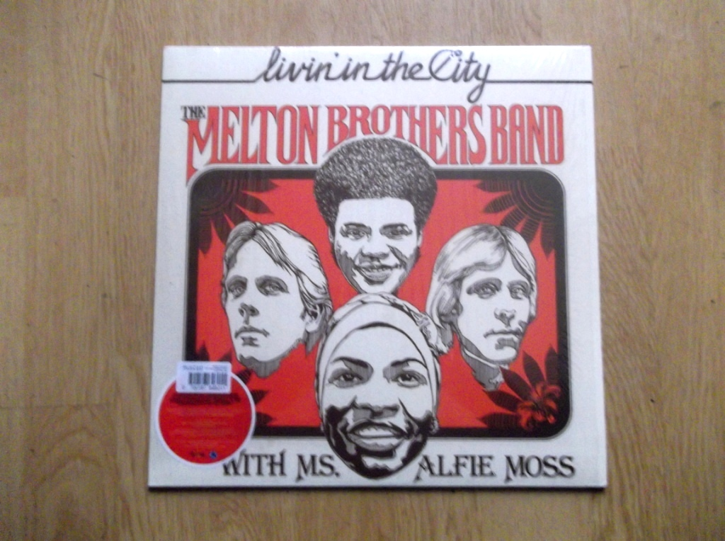 THE MELTON BROTHERS BAND / ALFIE MOSS - Livin' In The City - LP
